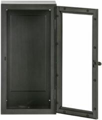 Grijze BePureHome Manta hangende vitrinekast L 60x30 grijs metaal