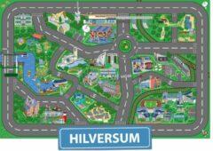Speelkleed Hilversum City-Play - Autokleed - Verkeerskleed - Speelmat Hilversum