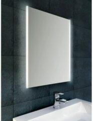 Douche Concurrent Badkamerspiegel Wiesbaden Duo 80x60cm Geintegreerde LED Verlichting Verwarming Anti Condens Lichtschakelaar Dimbaar