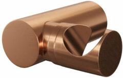 Douche Concurrent Douchekophouder Brauer Copper Edition Rond Geborsteld Koper PVD