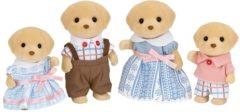 Gele Sylvanian Families 5182 Familie Labrador - Speelfigurenset