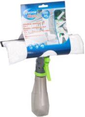 Lifetime Clean Raamreinigingsset 24,5 Cm Pvc Grijs/groen 3-delig