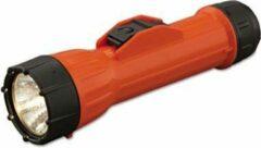 Oranje Merkloos / Sans marque Brightstar zaklantaarn voor 2 batterijen