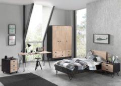 Vipack Furniture Vipack Jugendzimmer William, Kleiderschrank 3-trg.