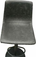 Rousseau Design barstoel met pomp Phoebe, set van 2 stoelen, zwart, barkruk