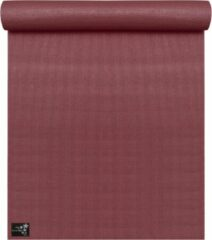Bordeauxrode Yogistar Yogamat basic bordeaux