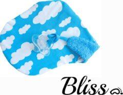 Wallabiezzz - Speendoekje - Knuffeldoekje - Blauwe Wolkjes
