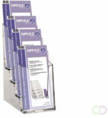 Transparante Opus2 Folderbakje OPUS 2 4x1/3 A4