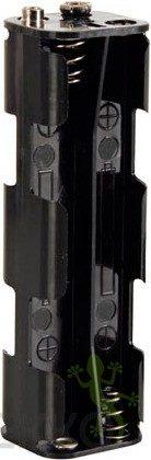Afbeelding van Velleman BH382B Batterijhouder 8x AA (penlite) Drukknopaansluiting (l x b x h) 108.5 x 31.5 x 29.5 mm