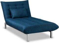 Beter Bed Select Beter Bed Slaapbank San Francisco 1-persoons - 90 X 190 X 37 Cm - Blauw
