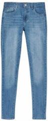 Blauwe Kleding Jean slim Lvg 710 Super Skinny Jean by Levi's