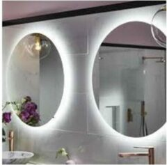 Schloss Ronde badkamerspiegel met LED verlichting en anticondenverwarming 60 CM