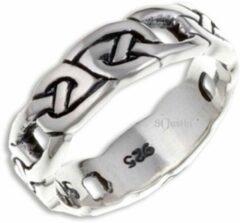 St Justin Ltd Four Knot Zilveren Ring Maat 66