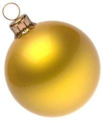 Goudkleurige Kerstballen - Goud - Pvc box Red/Silver/Gold