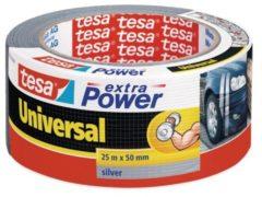 Tesa 56388-00000-09 Textieltape tesa Extra Power Zilver (l x b) 25 m x 50 mm 1 rollen
