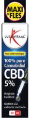 Lucovitaal CBD Cannabidiol olie 5% Maxi Fles