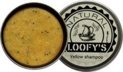 Loofy's - shampoo bar - met opberg blikje - Yellow- voor normaal tot vet haar - plastic vrij, óók de verpakking (!) - 70 gram - geschikt voor de veganist