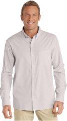 Grijze Coolibar UPF 50+, 98% UV-bescherming Heren Outdoorshirt Maat M