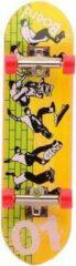 Johntoy Vinger Skateboard Geel/groen 7-delig 9 Cm