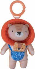Blauwe Taf Toys Rammelaar Harry Lion Junior 24 Cm Textiel Oranje/bruin