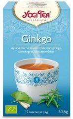 Yogi tea Ginkgo Biologisch 17 stuks