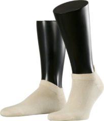 Creme witte Falke Esprit Sneakersokje Basic Uni Heren 2-PACK 17855 - Beige 4011 cream Heren - 39-42