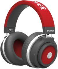 Denver Electronics BTH-250 RED mobiele hoofdtelefoon Stereofonisch Hoofdband Zwart, Rood