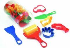 Klei accessoires/modelleer set 9-delig creatief speelgoed voor kinderen - Creatief speelgoed - Knutselen - Knutselmateriaal - Kleien