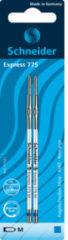 Balpenvulling Schneider Express 775 M op blister blauw