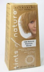 Tints Of Nature Permanent hair colour natural platinum blond verp.
