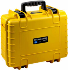 B&W International B&W type 4000 geel met plukschuim
