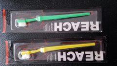 Groene Reach - junior tandenborstel 3-12 jaar