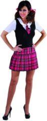 Feestwinkel Direct Schoolgirl pakje - Schoolmeisje uniform jurkje - maat 50/52