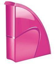 Tijdschriftenhouder Cep Gloss kleuren rug 8,5 cm - roze