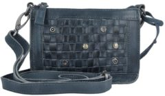Billy the kid NASTY COWBOYS CHARLOTTE UMHÄNGETASCHE LEDER 17 CM Damen blau
