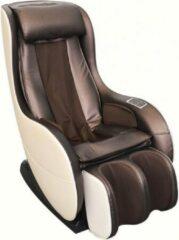 Bruine TotalSeat Elektrische massagestoel PINO - Relaxstoel - Loungestoel - Ontspanningsstoel - Massagefauteuil - 2 massage programma's - Je Eigen Masseur thuis - Massage in elke Ligstand - Rugverwarming - Kuitmassage - Nekmassage