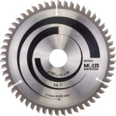 Bosch Kreissägeblatt Multi Material 190x30x2,4mm Z54TR-F 2 608 640 509 2608640509