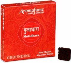Bruine Aromafume Wierookblokjes Muladhara – Basis Chakra