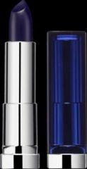 Blauwe Maybelline Color Sensational Lipstick - 892 Midnight Blue