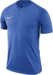 Blauwe Nike Tiempo Premier SS Jersey Sportshirt performance - Maat XL - Mannen - blauw