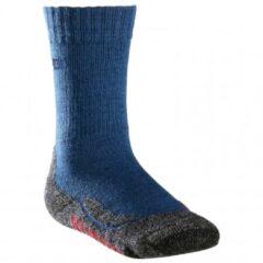 Blauwe Falke - Kid´s TK2 - Trekkingsokken maat 23-26 blauw/zwart