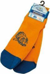 Eberhard Faber EF-1055 Flipper Swimsafe Aquasokken met Anti-Slip Zolen 35-38 Oranje/Blauw