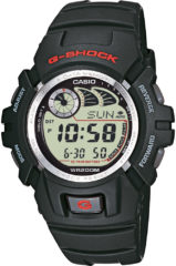 Casio Quartz Horloge G-2900F-1VER (l x b x h) 52.4 x 45.9 x 16.5 mm Zwart Materiaal (behuizing): Hars Materiaal (armband): Hars