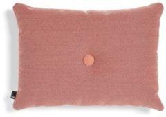 Roze Hay Dot sierkussen 45 x 60 cm