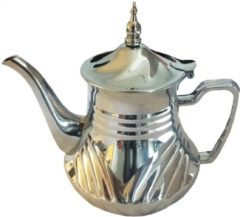 Zilveren Hakal Marokkaanse Theepot (RVS) 1.8 Liter