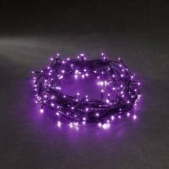 Konstsmide 3627-450 Micro-lichtketting Buiten werkt op het lichtnet 40 LED Purper