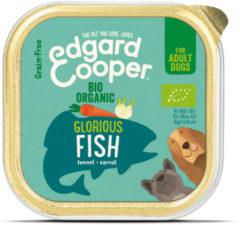 Edgard-Cooper Edgard&Cooper Kuipje Bio Fish Adult - Hondenvoer - Vis Venkel Wortel 100 g Biologisch
