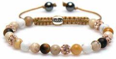 Karma Jewelry Karma Armband Spiral Soft Sand Rose Crystal