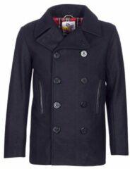 Blauwe Mantel Harrington PCOAT