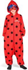 Rode VIVING COSTUMES / JUINSA - Ladybug pak voor kinderen - 116 (4-5 jaar) - Kinderkostuums